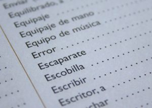 Taking a Spanish Course